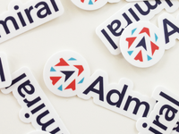 Admiral Stickers