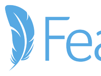 Dribbble feathr logo2