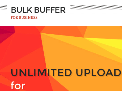 Bulk Buffer for Business web bulkbuffer