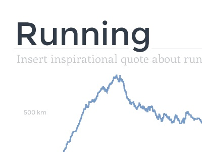 HL Running stats website
