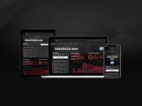 Adbank.Network Responsive Dashboard