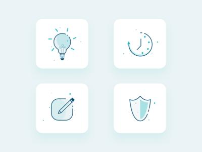 Icon Design for Heath care industrie web design ux design icondesign icon ui design user interface design