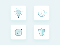 Icon Design for Heath care industrie
