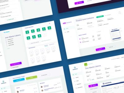 ARS Web App Project icon design illustration mobile app dashboard web design web app layout design ui design user interface design