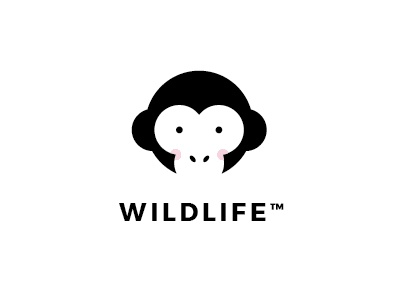 Monkey logotype thirtylogos identity thirty logos design graphic design logotype