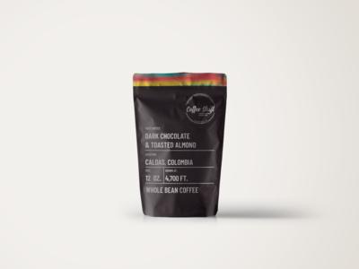 Coffee Shift Paper Bag Mockup