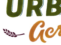 Urban Acres Wordmark