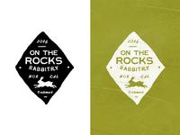 On the Rocks Rabbitry Crest