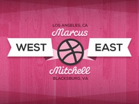 East meets west - Thanks for the Invite