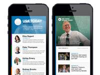 Nightly News Digest iPhone App