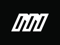 1 Hr Practice - M V3 dynamic logo m logo alphabet branding vector dailylogochallenge geometric simple modern logos icon bold logo