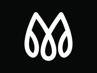 1 Hr Practice - M V4 elegant m logo jewellery luxury design luxury logo simple geometric alphabet logo icon branding modern logos dailylogochallenge bold logo