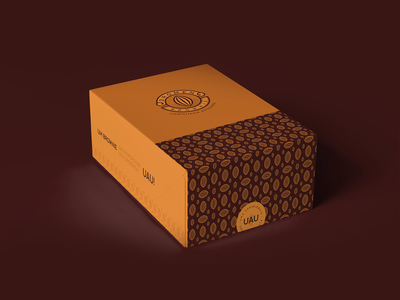 Dromen Brownie - Box box design packaging cake chocolate brown emblem classic logo brownie logo cocoa