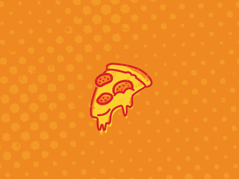 Pump Pizza Icon pizza logo branding logo design illustration icon
