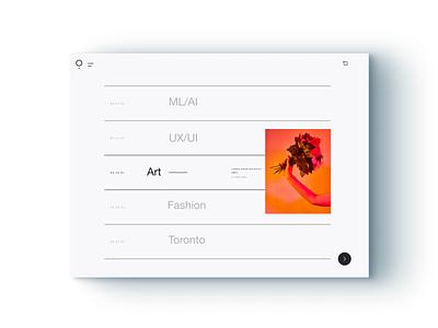 Blog Concept flat ecommerce design template uiux ecommerce figma motion adobe brand website minimal ui digital ux design