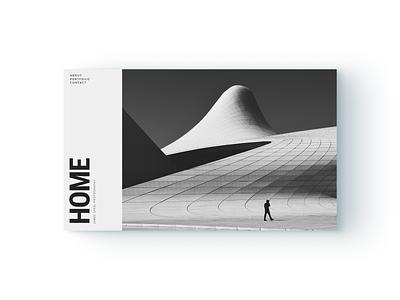 Minimalist Home Page grid architecture modern minimalism website design figma typogaphy minimalist web design webdesign web adobe flat brand website ui minimal digital ux design