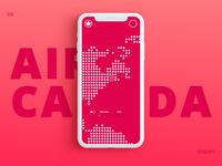 Air Canada Concept App