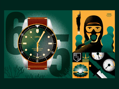 ORIS Divers Sixty Five - Green