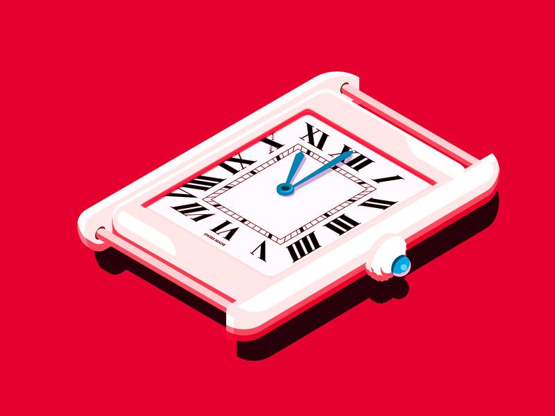 Timepiece - Isometric Trial