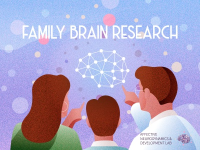 Family Brain Research neuroscience scientific illustration colors psychology virginia tech neurodynamics affective neuropsychology brain illustration