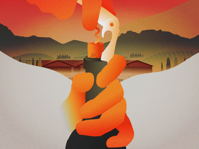 Taste of weekend - Clos Du Val, Napa Valley after effects california wine wine clos du val winery animation illustration
