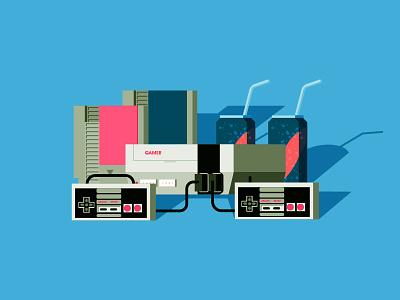 Nintendo video game nintendo 1990