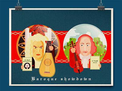 Baroque Showdown - Bach vs Vivaldi baroque vivaldi bach