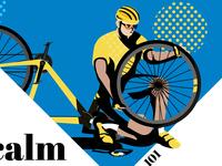 Cycling clinic - fix a flat tire