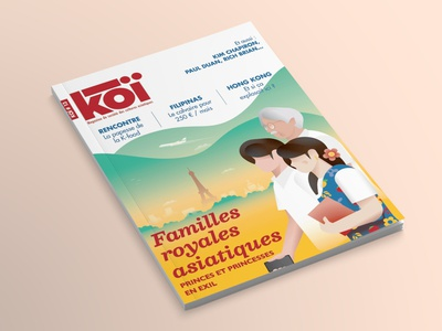 Illustration for French magazine - KOI