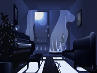Mood illustration -  Moonlight