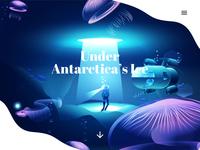 Under Antarctica's Ice - inspired by Lake Vostok