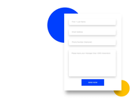 Contact page positive message