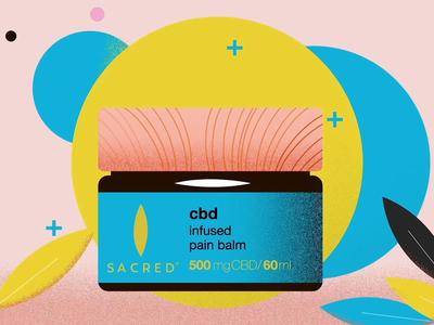 Animated Promotion - Sacred CBD Pain Balm