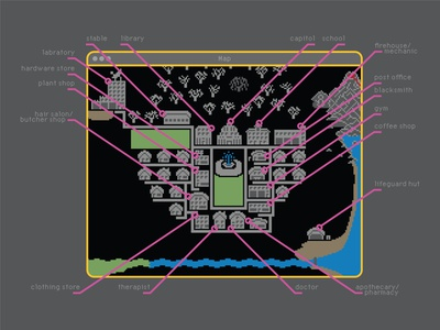 map map pixels design illustration