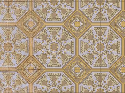 tile vintage reconstruction illustration design pattern illustrator pattern design vector