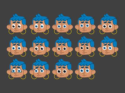 character design eyes character design character illustrator vector illustration
