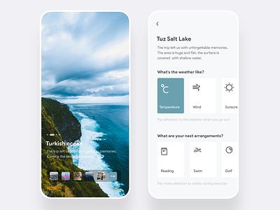 Travel app 向量 设计 应用