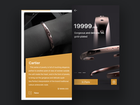 Jewelry concept interface design