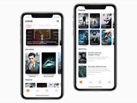 TV app UI100 days 01