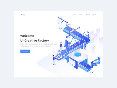 2.5dui Creative Factory 插图 图标 设计 ui