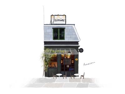 A CAFE IN COPENHAGEN