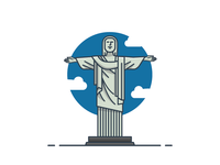ICON / ILLUSTRATION | Christ The Redeemer Statue