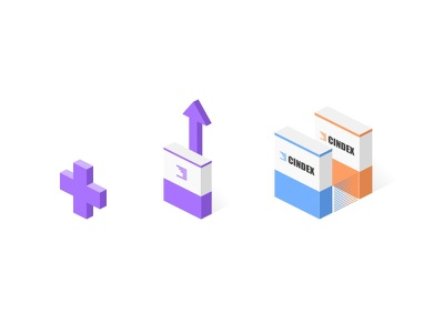 Isometric Graphics illustration vector web design