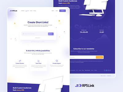 RPS Link url web design ui ui design design u branding logo graphic design