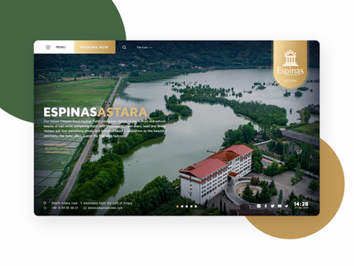 Espinas Hotel espinas hotel redesign hotel design hotel booking hotel website hotel concept ui design ui design web design