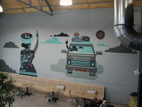 Boiler Room Mural