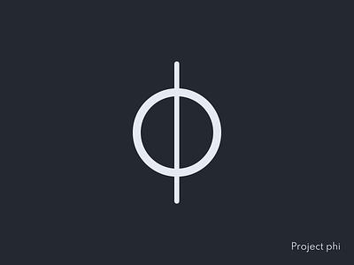 Project phi - Logo css icon illustration vector logo ux ui design