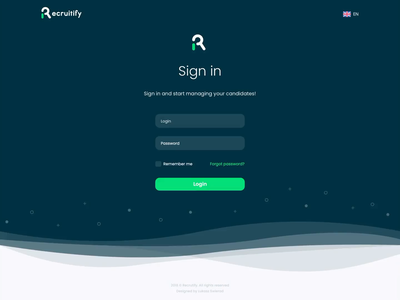 Login animation illustration animation motion design motion login ux ui web landing landing page