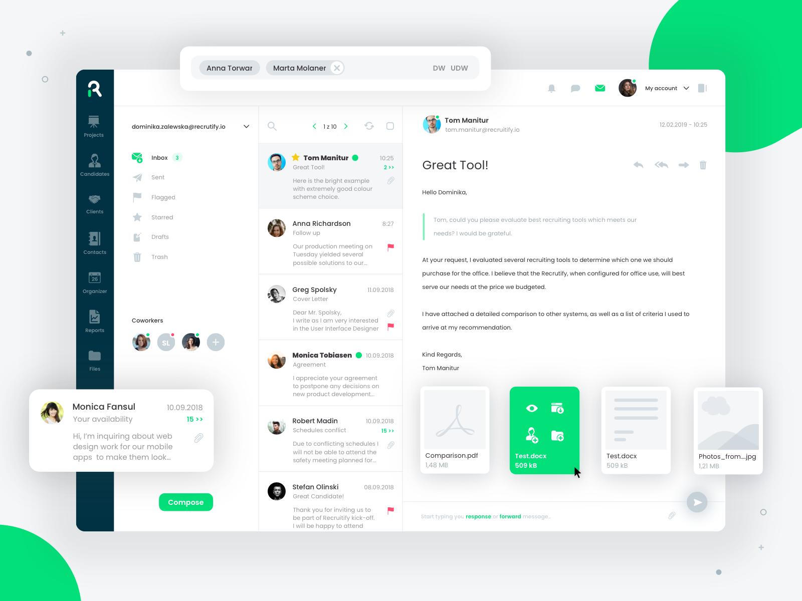Recruitify mail client 2 l.swierad