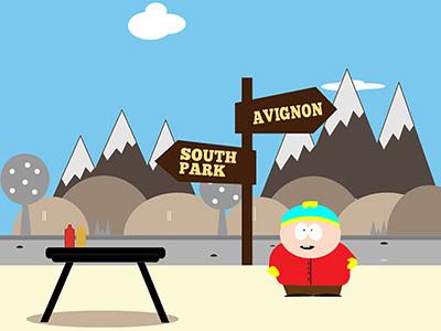 Southpark design graphic illustrator